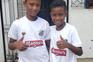 Santos recruta no futebol de rua