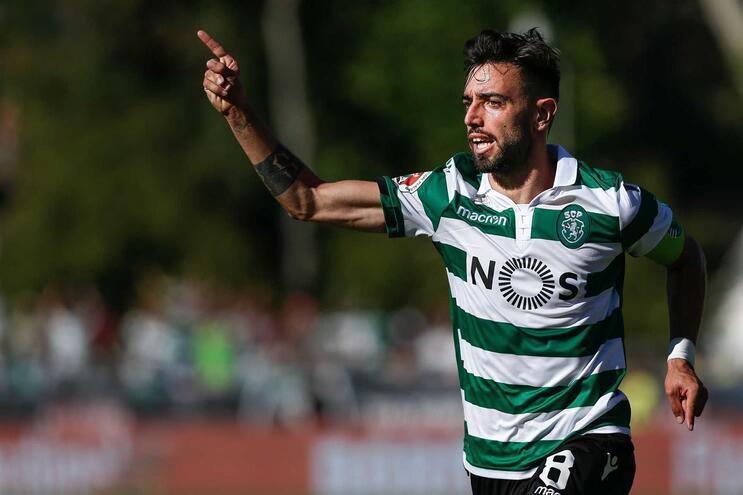 Bruno Fernandes inaugurou o marcador