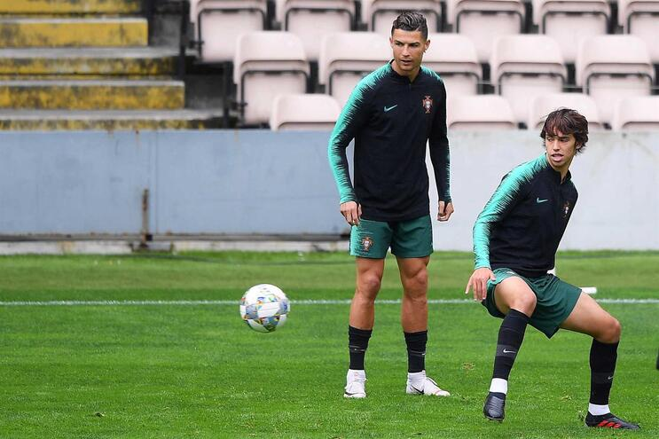 Cristiano Ronaldo acredita que João Félix vai triunfar em Espanha