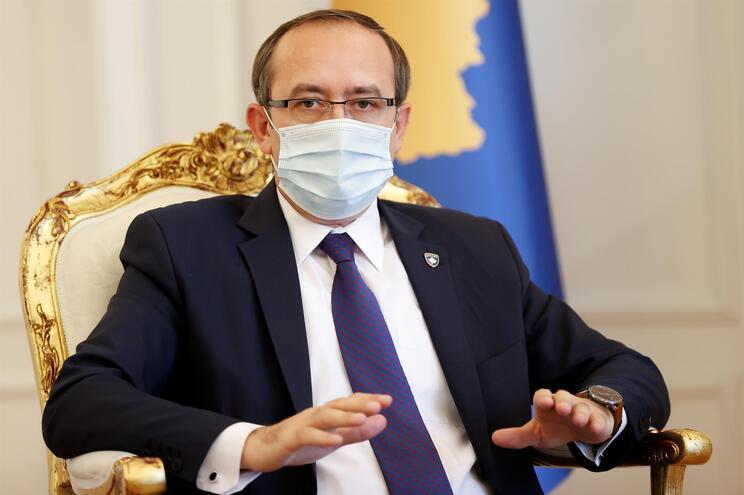 Avdullah Hoti, primeiro-ministro do Kosovo
