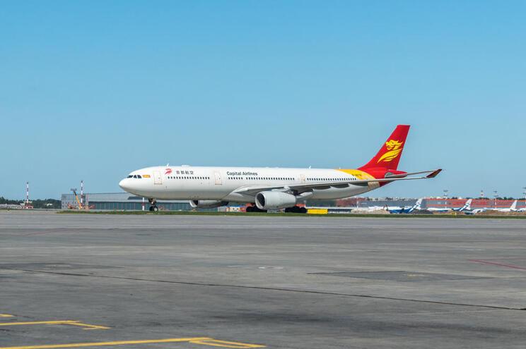 Capital Airlines retoma voo direto entre China e Portugal