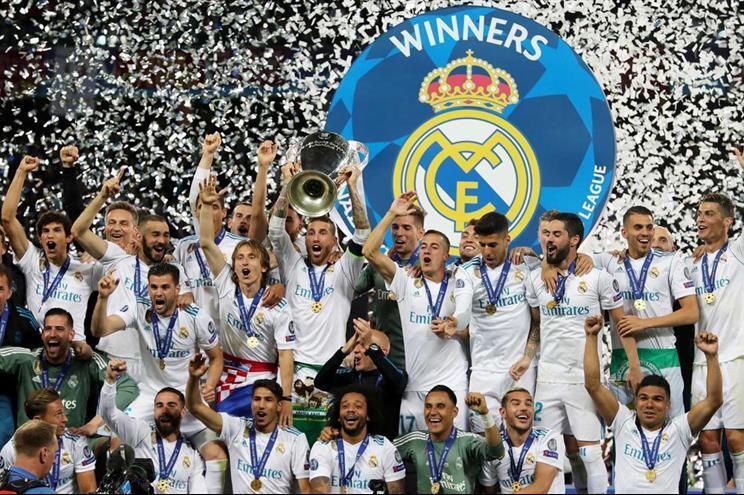 Real Madrid é o vencedor em título da Liga dos Campeões