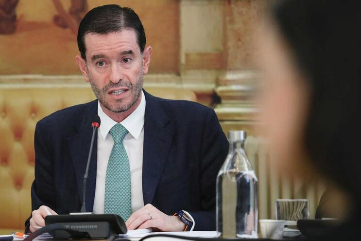 Miguel Frasquilho, presidente do Conselho de Administração da TAP
