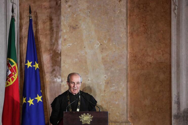 O presidente do Supremo Tribunal de Justiça, António Joaquim Piçarra