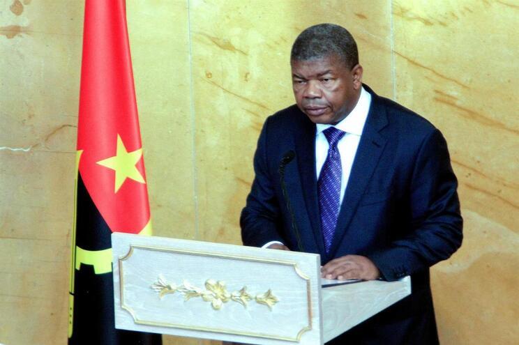 O Presidente da República de Angola, João Lourenço