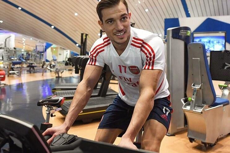 Cédric Soares, jogador do Arsenal