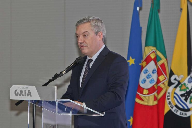 Eduardo Vitor Rodrigues, presidente Câmara de Gaia e do Conselho Metropolitano do Porto