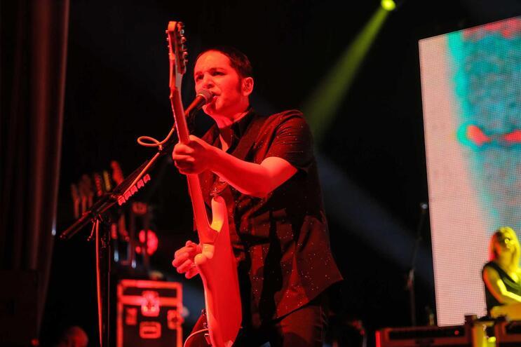 A banda liderada por Brian Molko tocou em Portugal em 2017