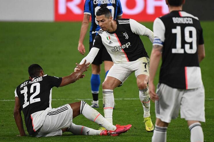 Juventus de Cristiano Ronaldo lidera o campeonato
