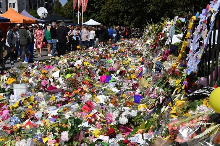 Homenagem às vítimas do ataque na Nova Zelândia