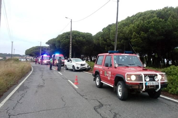 Acidente aconteceu na Estrada Casal do Condado
