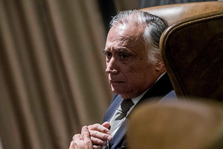António Vieira Monteiro, presidente do banco Santander em Portugal