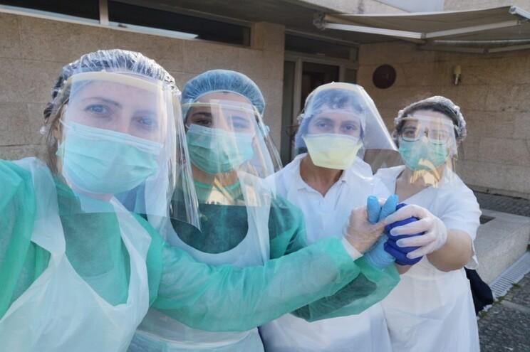 Sara Alvarenga, Natália Pereira, Fátima Santos e Filomena Ferreira são as quatro resistentes que cuidam