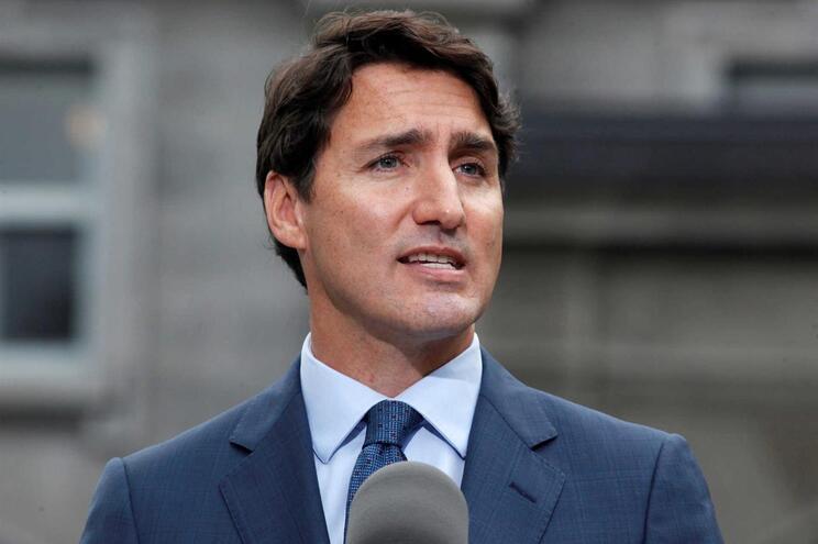 O primeiro-ministro do Canadá, Justin Trudeau