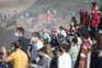 Multidão inesperada rumou à Nazaré para ver de perto um espetáculo no mar