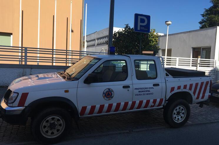 A Proteção Civil de Vieira do Minho está a coordenar todas as ações