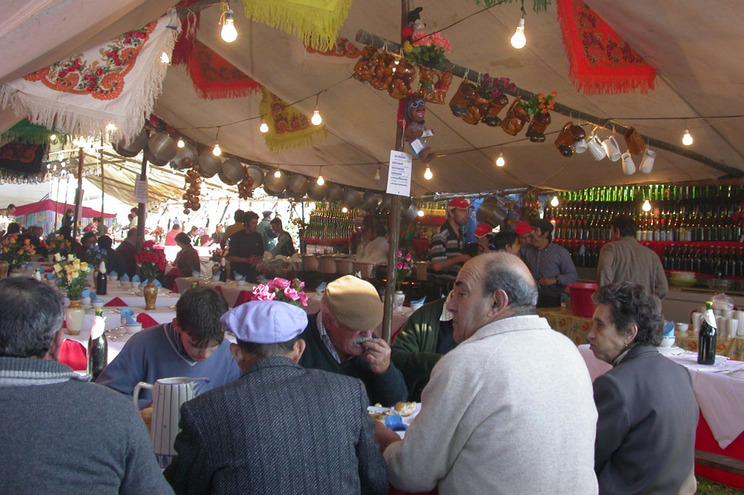 Feira dos Santos de Cerdal (imagem de 2010)