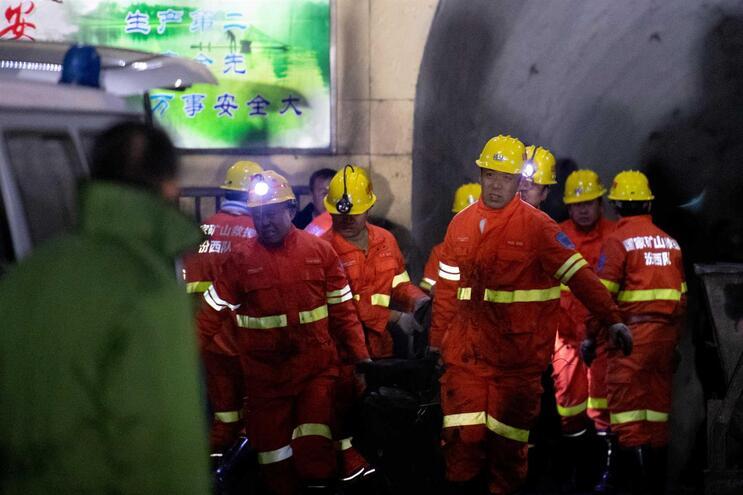 Explosão causou a morte a 15 mineiros