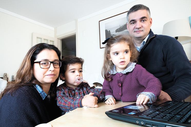 Maria é uma das 15 crianças em Portugal que sofre de Mowat-Wilson