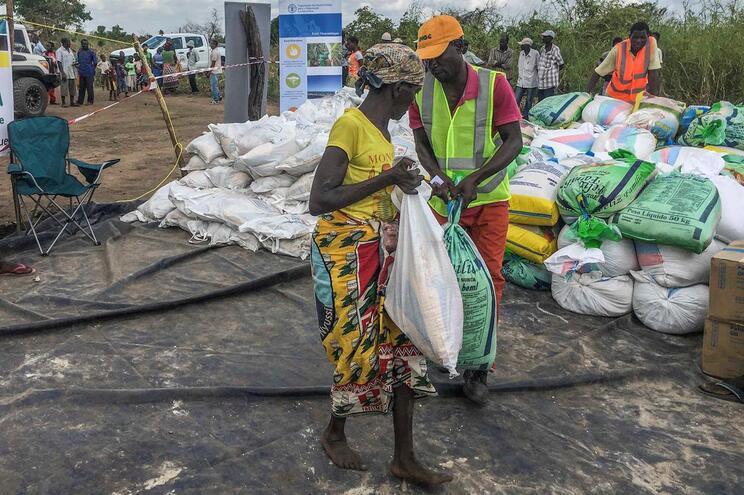 Moçambique foi atingido pelo ciclone Idai em março e pelo ciclone Kenneth em abril