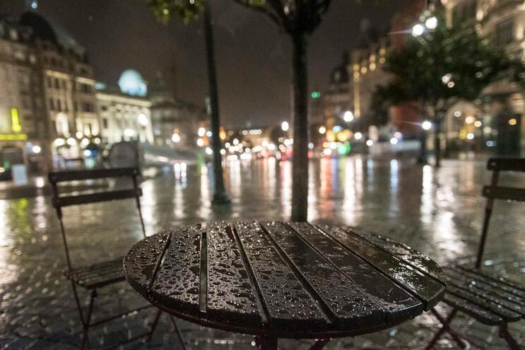 O distrito do Porto está sob aviso amarelo por causa da chuva