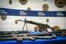 Há G3, pistolas metralhadoras e Kalashnikov entre as armas apreendias