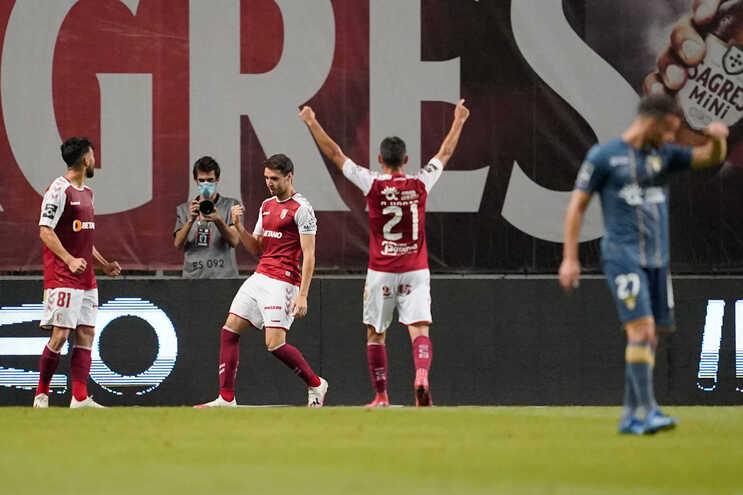O Braga venceu este sábado o Desportivo das Aves