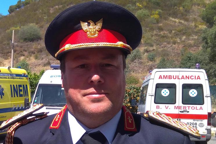 Comandante da corporação, Jorge Santos