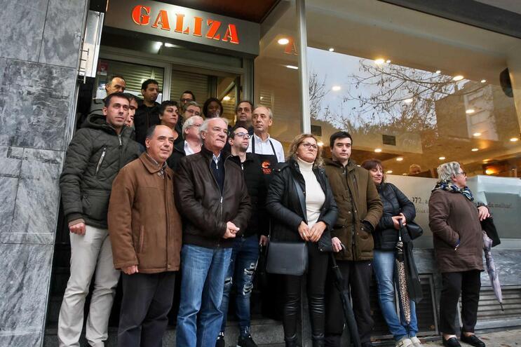 Arménio Carlos, secretário-geral da CGTP-IN, reuniu-se há dias com trabalhadores da Cervejaria Galiza