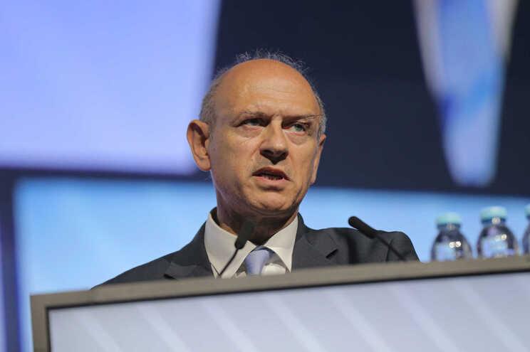 O secretário de Estado Adjunto e das Comunicações, Alberto Souto de Miranda