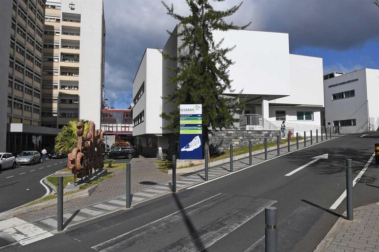 Hospital Nélio Mendonca, no Funchal