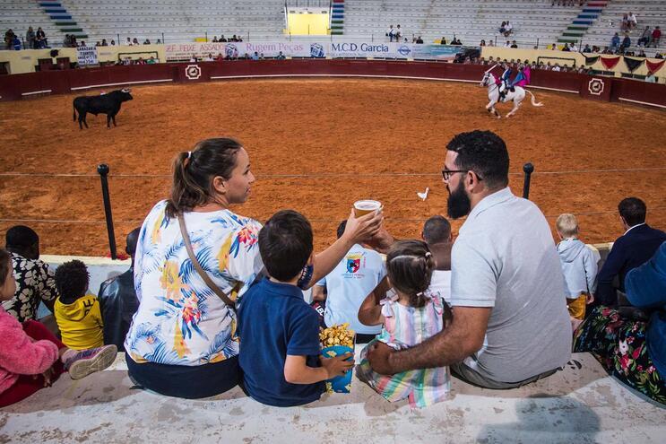 Uma noite de verão na única arena de touros do Algarve