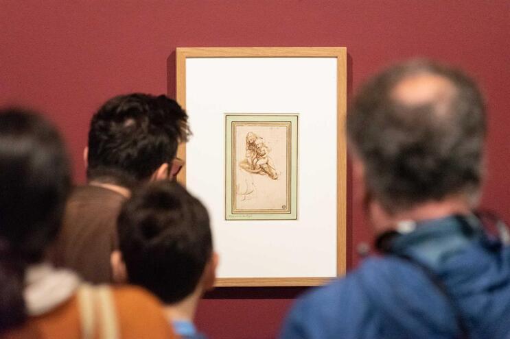 A única obra de Leonardo Da Vinci em Portugal