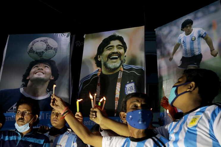 Maradona morreu a quarta-feira