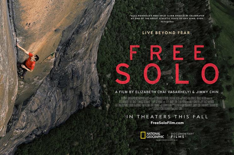 """""""Free Solo"""": O melhor documentário dos Oscars tem mão portuguesa"""