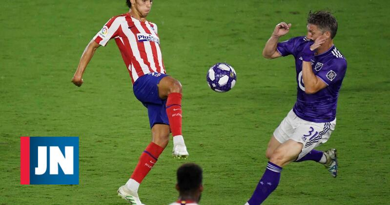 João Félix titular no primeiro jogo do Atlético na La Liga