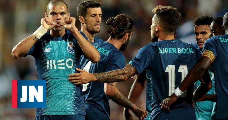 """F. C. Porto vence Getafe e conquista a """"Copa Ibérica"""""""