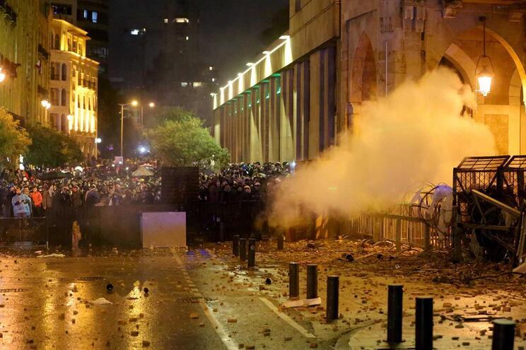 Confrontos em Beirute