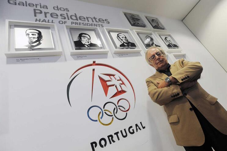 José Manuel Constantino, presidente do Comité Olímpico de Portugal