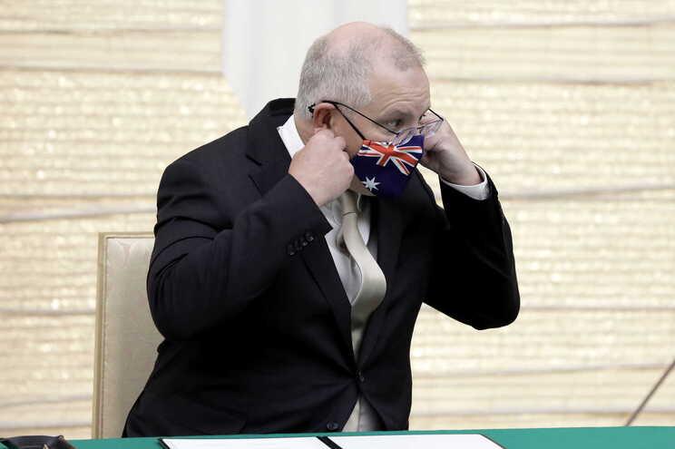 O primeiro-ministro australiano, Scott Morrison