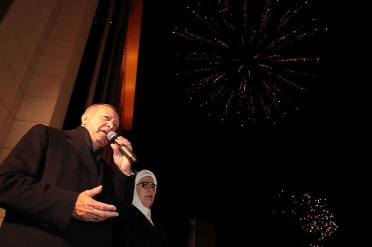 Erdogan e a mulher, Emine Erdogan
