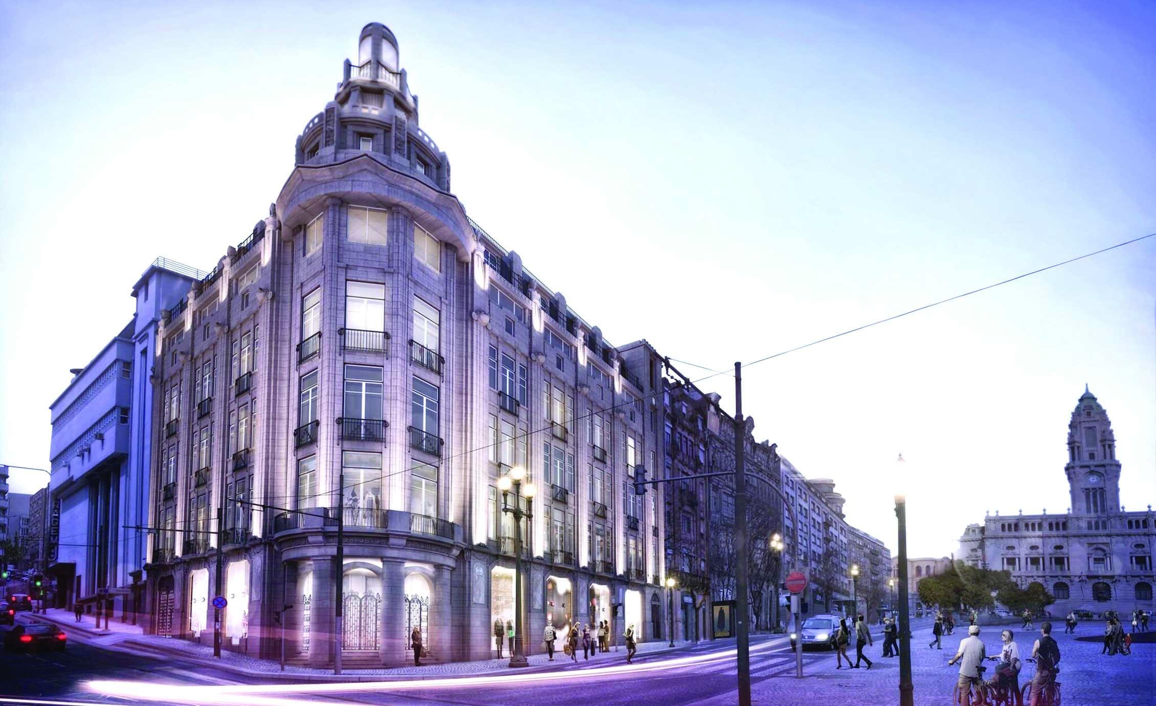 """Apartamentos do antigo """"O Comércio do Porto"""" já foram vendidos"""