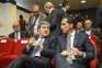 Fernando Gomes, presidente da FPF, e Pedro Proença, presidente da LPFP
