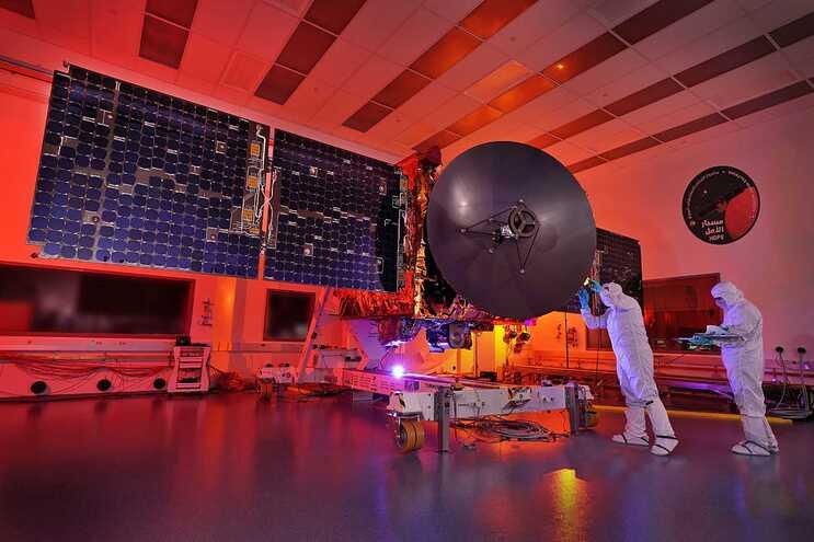Emirados Árabes Unidos preparam-se para lançar sonda a Marte
