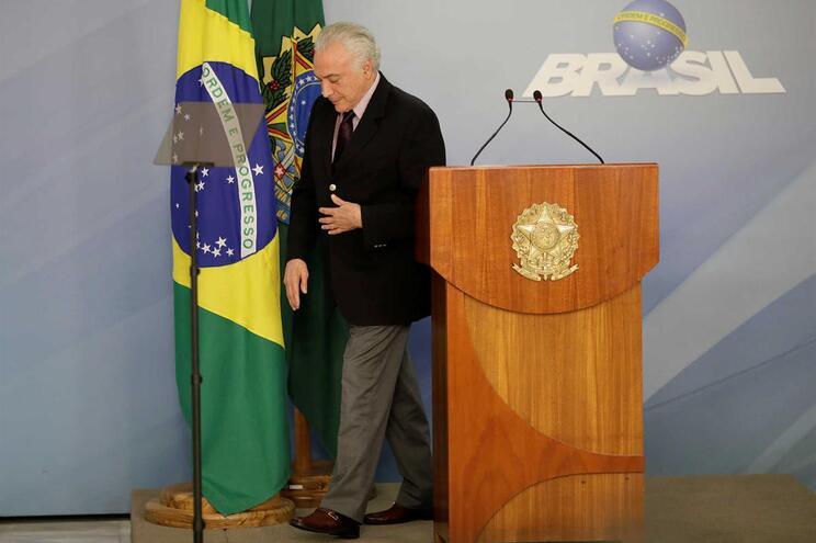 Michel Temer, presidente do Brasil