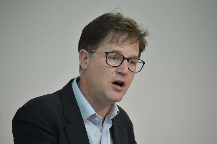 Vice-presidente do Facebook, Nick Clegg