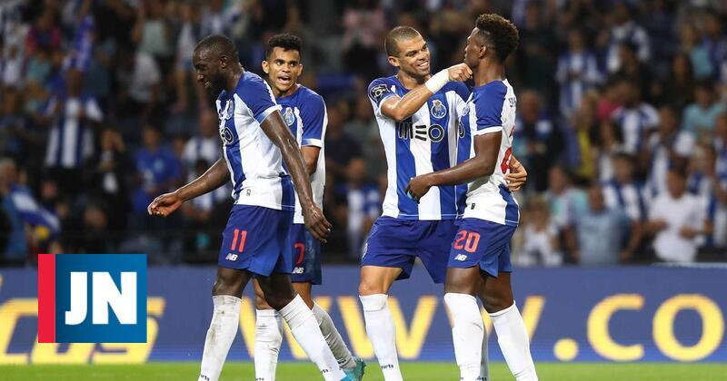 Hat-trick de Zé Luís embala F. C. Porto para primeira vitória no campeonato