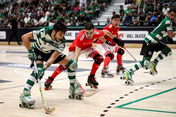 Sporting vence Benfica e está na final da Liga Europeia