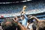 O maior sonho cumprido no México, quando, ao segundo Mundial, conquistou o título