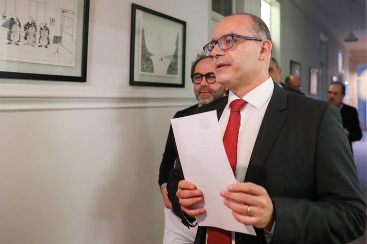 O presidente do Sindicato dos Magistrados do Ministério Público, António Ventinhas